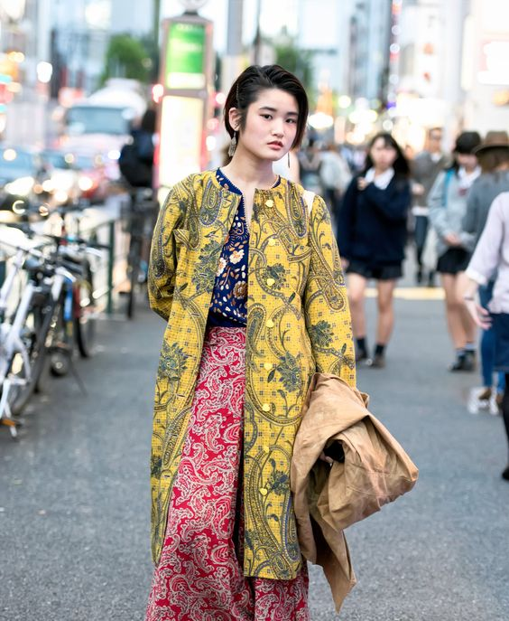 The Best Street Style From Fashion Week Tokyo Tokyo Tokyo Fashion And Street Styles