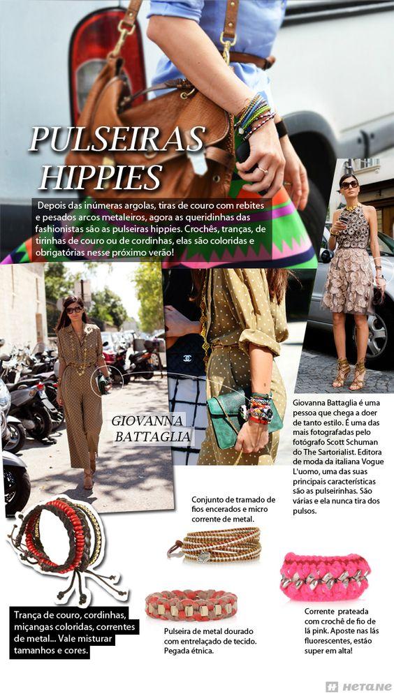 Pulseiras Hippies - Conteúdo para blog da marca Hetane.