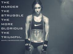 female muscle motivation | Simplyshredded's Ultimate Bodybuilding Motivation [Women's Edition ...