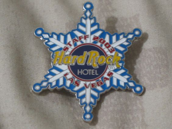 A Junkee Shoppe Junk Market Stop: HARD ROCK Hotel Las Vegas 2003 Staff Christmas Pinback ... For Sale Click Link Here To View >>>> http://ajunkeeshoppe.blogspot.com/2015/12/hard-rock-hotel-las-vegas-2003-staff.html