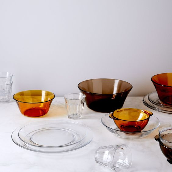 French Glass Dinnerware on Food52