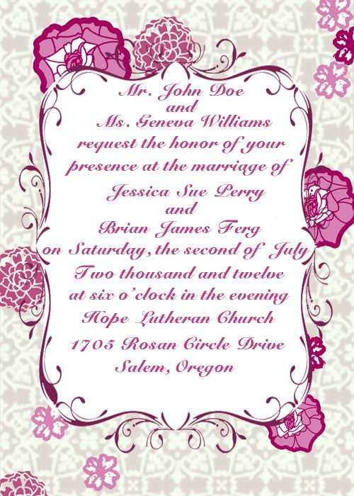 Personal wedding invitation quotes for friends