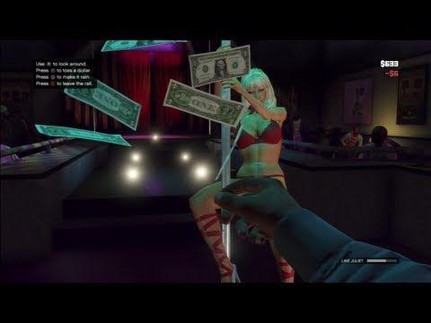 GTA 5 Gameplay Strip Club Juliet's Dancer (Grand Theft ...