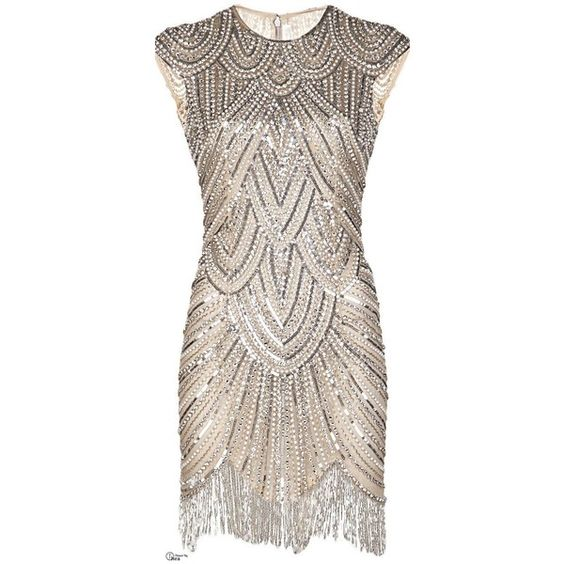 Vintage Style 1920s Flapper Dresses for Sale ❤ liked on Polyvore ...
