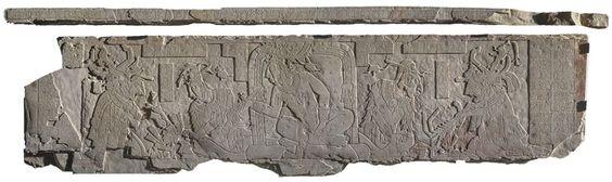 Tablero de trono del Templo XXI de Palenque, Chiapas. | Dónde Ir