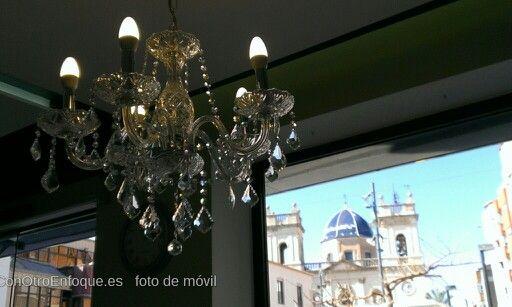 En una bonita cafetería de #Benifaió. Seria un buen lugar para celebrar una reunión de #novias www.ConOtroEnfoque.es