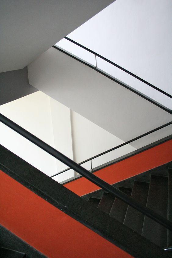 Germany. Bauhaus School. Dessau 1925-1926 - architects Walter Gropius and Adolf Meyer