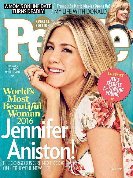 And PEOPLE's World's #MostBeautiful 2016 is... JENNIFER ANISTON!