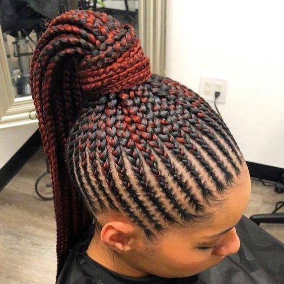 Beautiful Pictures Of An Amazing Braided Hairstyles African Hair