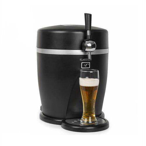 Klarstein Single Tap Mini Countertop Beer Dispenser In 2020 Beer Dispenser Countertop Beer Dispensers Beverage Cooler