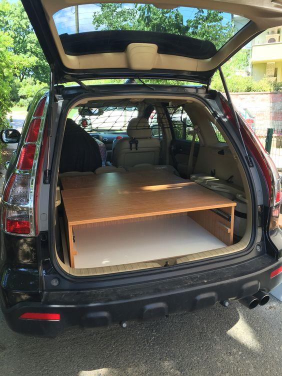 Crv c&ing car & Crv camping plarform   Camping platform   Pinterest   Camping Suv ...