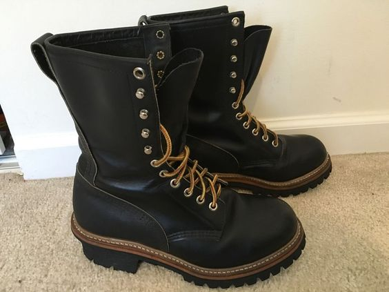 "Red Wing 9"" Logger - Lineman Boots 