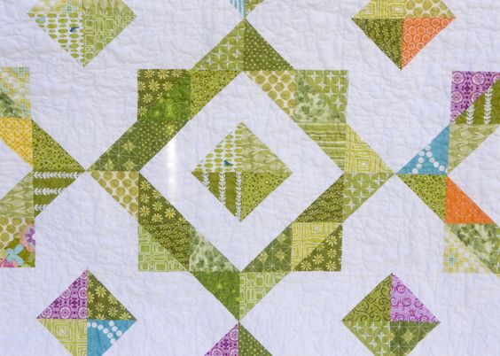 from the blue chair: Stash Buster Quilt--Finished