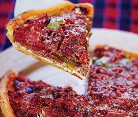 Recette : la pizza style Chicago