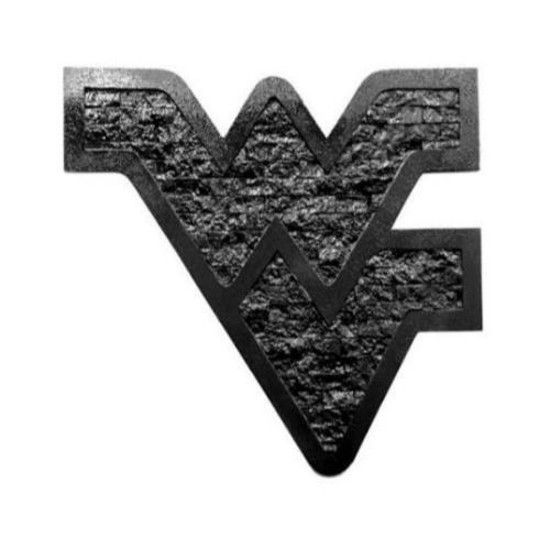 Made With Real Appalachian Coal This Flying Wv Wall Art Is Sure To Brighten Up Any Mountaineer Space The Coal Is Pulverized Bonded H Cool Eyes Wall Art Coal
