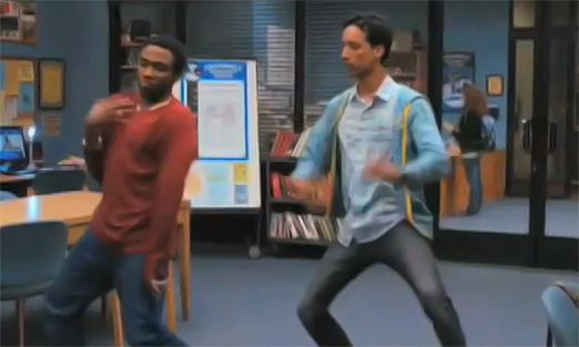 Troy and Abed...krumping. LOL