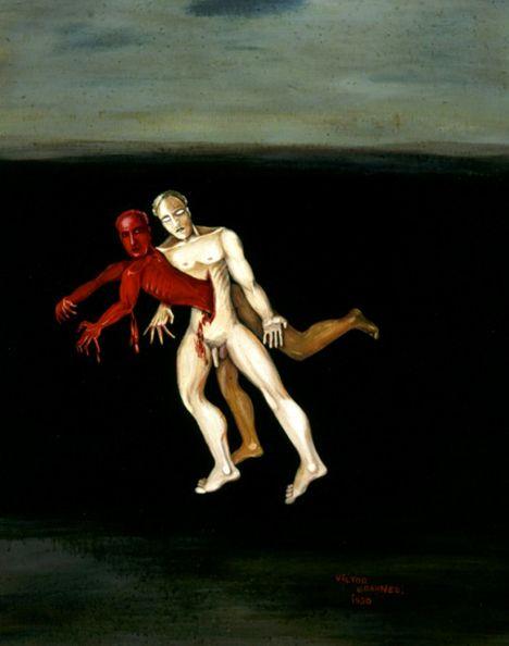 victor brauner | victor brauner (1903-1966)-el suicidio en el amancer