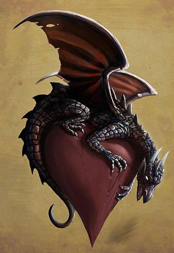 Dragon of my heart.: