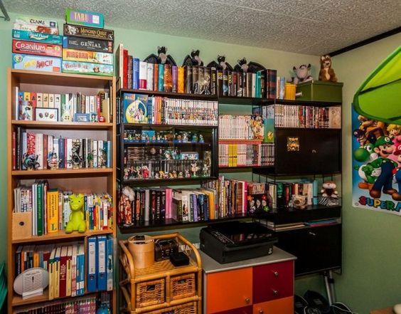 Dann hat das Spielehobby doch wieder Vorrang gehabt. #homestory #homestoryde #home #interior #design #inspiring #creative #games #spielehelden.net #computer #videospiele