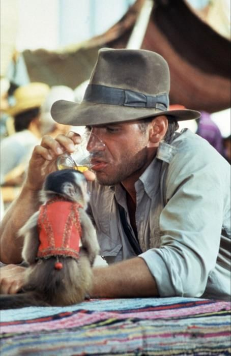 Harrison Ford as Indiana Jones in 'The Raiders of the Lost Ark' (1981)