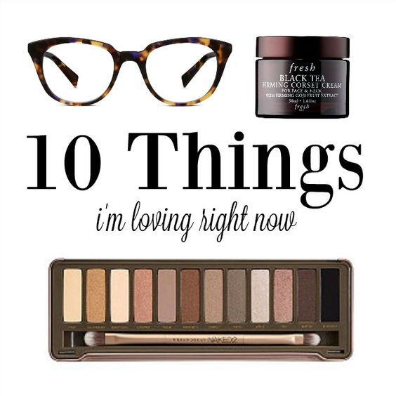 I've been a little fixated on cool activewear, skincare and other fun things to keep me moving in the right direction. Here are 10 things I'm loving right now.