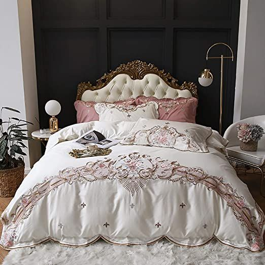 Four Sets Of Long Staple Cotton Embroidered Embroidered Four Sets Of Luxurious Cotton Double Wedding Embroi Duvet Bedding Sets Cotton Bedding Sets Bedding Set