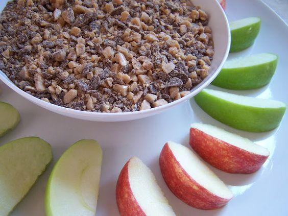 Mommy's Menu: Secret Recipe Club: Caramel Apple Marshmallow Dip