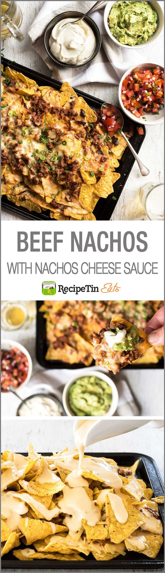 ... the ultimate nachos is a 5 ingredient, 5 minute nachos cheese sauce
