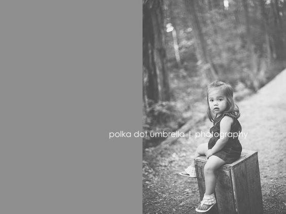 {avery :: mini session} appleton wi child photographer » Polka Dot Umbrella Photography #applecrates