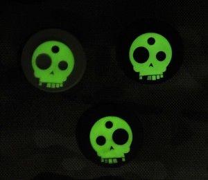 Brand New TAD Gear Glow in the Dark T-Skull Key Covers