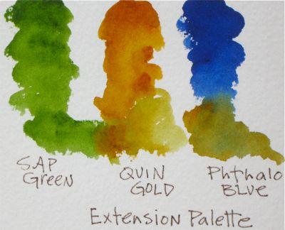 Watercolor Extension Palette