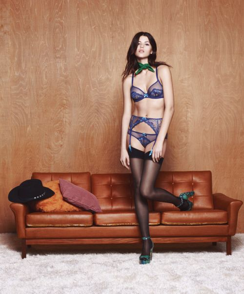 L'Agent by Agent Provocateur | Fall Winter 2015-16 Campaign |...