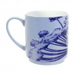 Gillian Arnold Purple Cow Parsley Head Stacking Mug