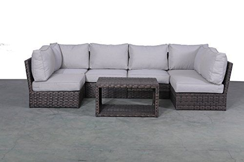 See Patio Sofa Set Weather Resistant Wicker Cushions Outdo Patio Furniture Patiofurniture Patiodecor 100 Satisfac In 2020 Patio Sofa Set Furniture Sofa Set