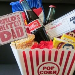 Father's Day Movie Night Party Bucket!