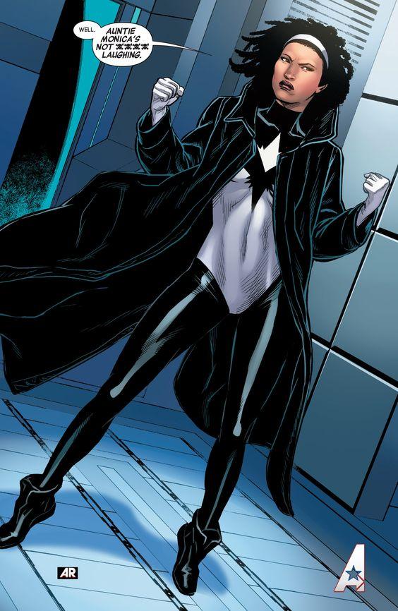 Monica Rambeau/Photon in Captain Marvel