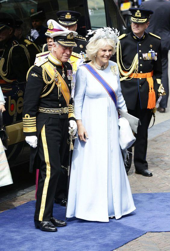 Prinz Charles von England m. Camilla Parker Bowles