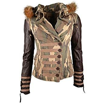 vegan hergestellt XS-XXL Navahoo Damen Winter Jacke Steppjacke Nirvana