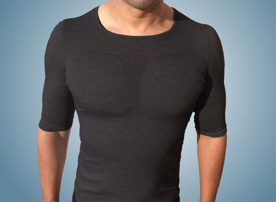 The manssiere!  black funkybod top