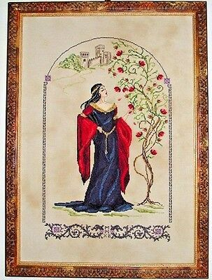 "COMPLETE X STITCH KIT /""MEDIEVAL ENCHANTMENT RL41/"" by Passione Ricamo SALE"