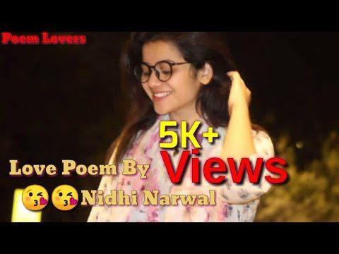 Love Shayri Poetry By Nidhi Narwal Famous Tik Tok Poetry Shayri