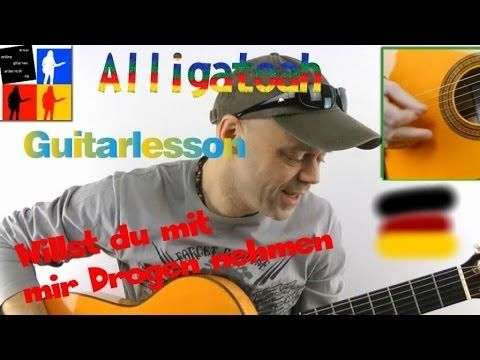 Willst du mit mir Drogen nehmen Guitarlesson German