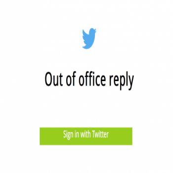 موقع OOOTwitter للرد على التغريدات الواردة تلقائيا في أوقات محددة  https://goo.gl/L1OpgX