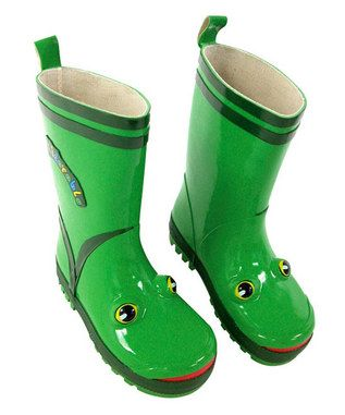 adorable froggy rainboots! lol