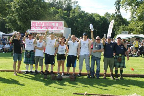 Team At Inveraray Highland Games