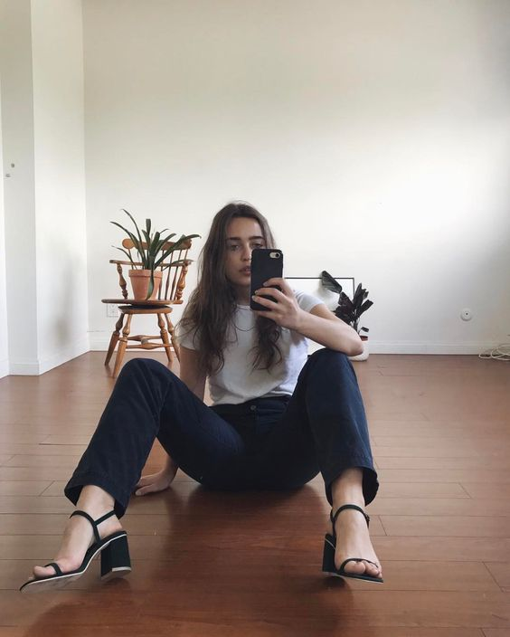 "2,945 Likes, 22 Comments - LERA PENTELUTE (@lerapen) on Instagram: ""True or false: I accidentally fell and took a selfie wearing my @_rafa_usa babies"""