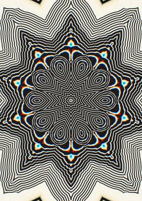 Trippy Psychedelic and Hippie