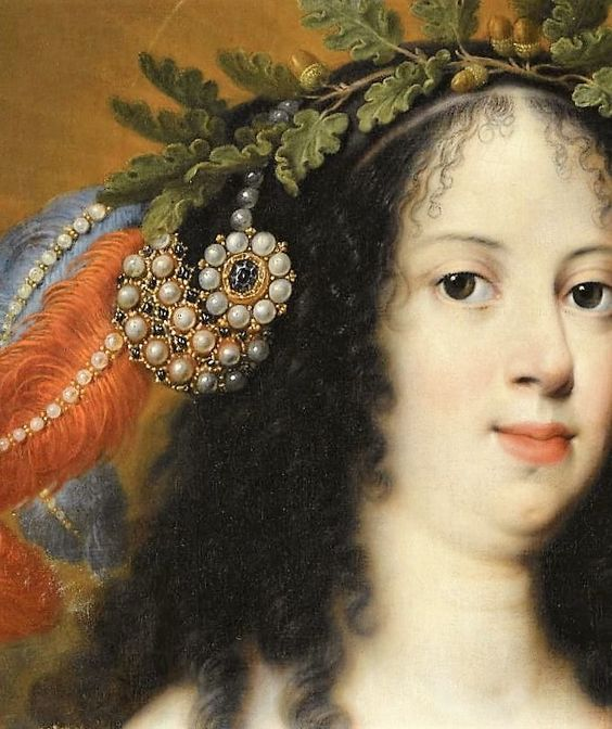 Vittoria Della Rovere as saint Vittoria by Mario Balossi: