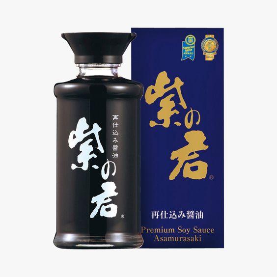 Sauce soja premium Asamurasaki Find this product on Bon Marché website La Grande Epicerie de Paris http://www.lagrandeepicerie.com/produit/33071_sauce-soja-premium.html