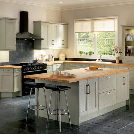 Traditional Sage Green Kitchen And Green Kitchen On Pinterest